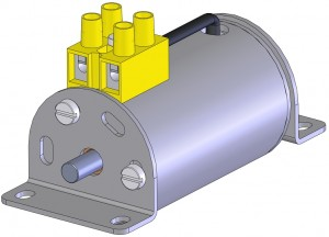 Elektromagnes blokady drzwi wagonowych EBD